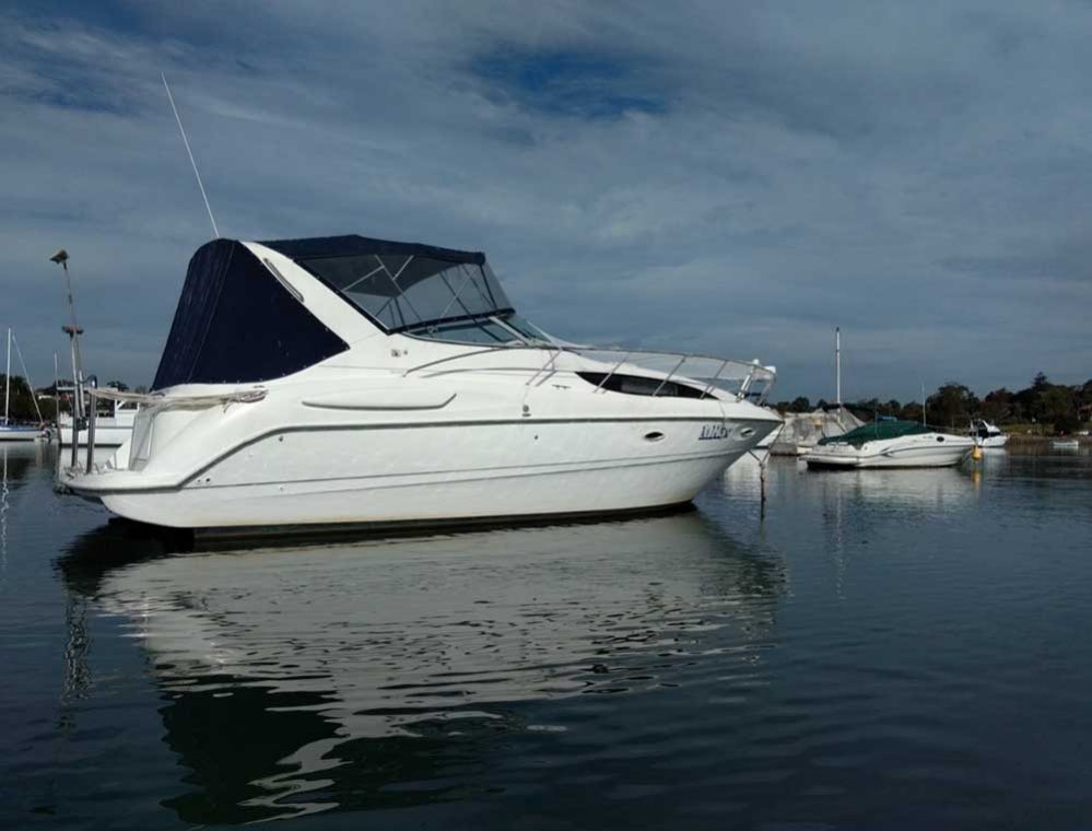 31 5' BAYLINER 3055 (SOLD) - Drummoyne Boat Sales - Boats