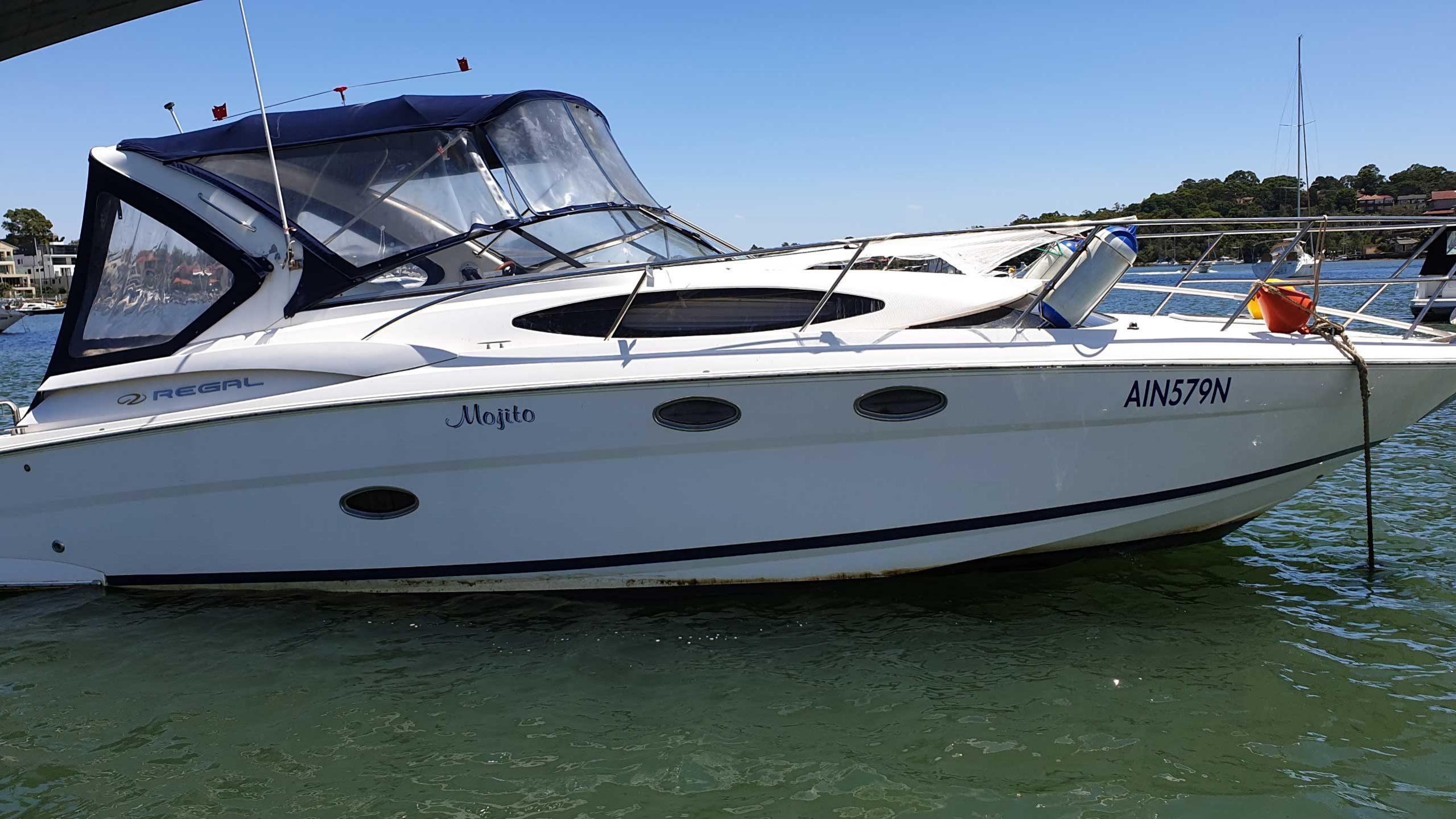 36' Regal 3360 - Drummoyne Boat Sales - Boats For Sale