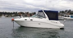 27.5′ Searay 275 Single Engine